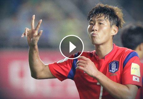 VIDEO: Spurs new-boy Son's hat-trick