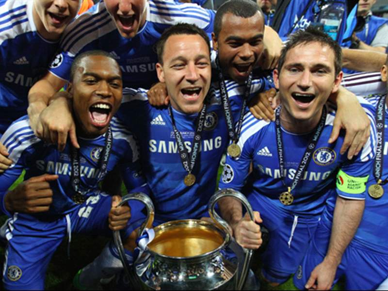 In Pictures Chelsea Celebrate Champions League Success