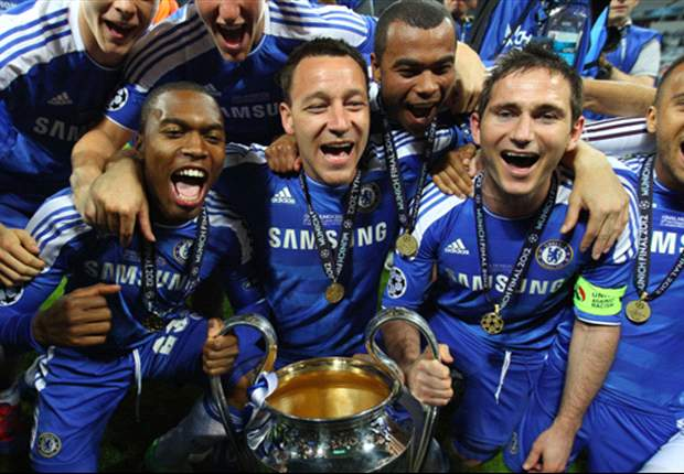 In Pictures: Chelsea celebrate Champions League success