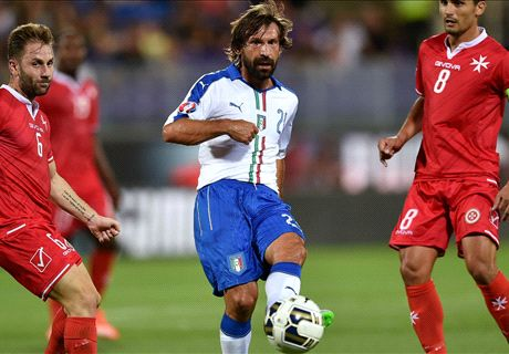FT: Italia 1-0 Malta