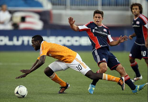 New England Revolution 2-2 Houston Dynamo: Camargo goal grabs draw for Houston