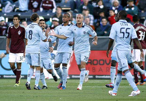 Colorado Rapids 2-2 Sporting Kansas City: Rapids come from two down