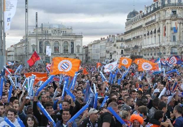 O Montpellier sagrou-se campeão francês pela primeira vez na história, ao vencer 2-1