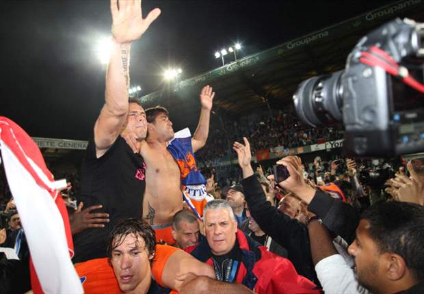 The ultimate underdogs: Montpellier's 'ugly ducklings' defy 80/1 odds to beat Ancelotti's PSG to the Ligue 1 title