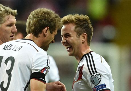 Gotze & Muller see off Poland