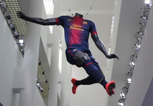 Barcelona, Manchester United, Milan y las camisetas más feas para la temporada 2012-2013