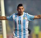 TEMPO REAL: A atuação de Aguero contra o Equador