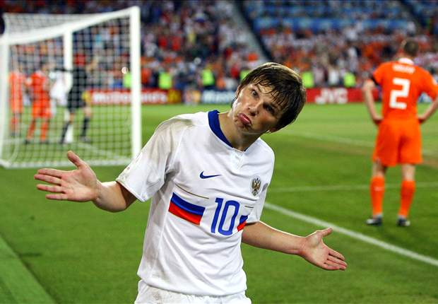 Arshavin: Russia's objective is reaching the semi-finals