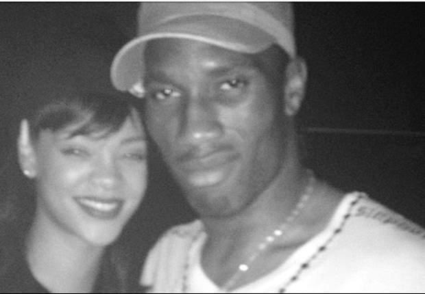 Didier Drogba Rayakan Gelar Liga Champions Bersama Rihanna