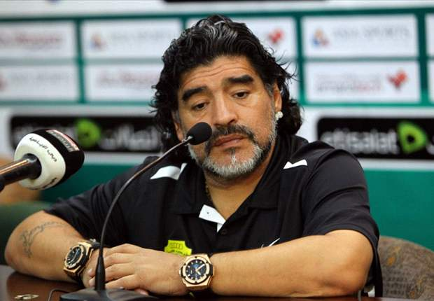 'Humble' England are favourites against Italy, says Maradona