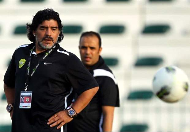 'For once Spain look beatable' - Maradona