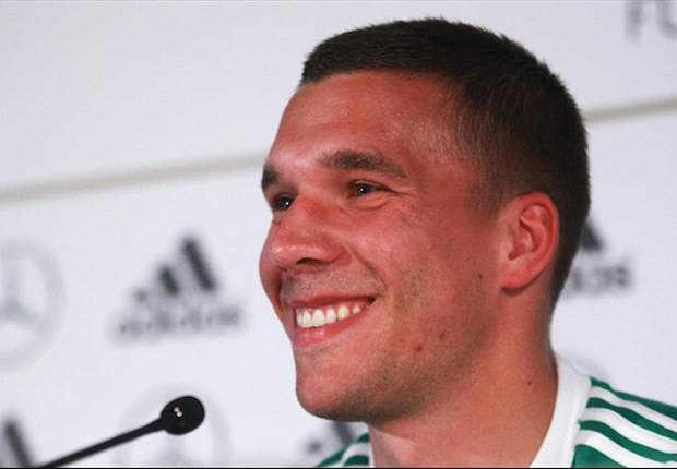 Author Nick Hornby hopes Podolski can be Arsenal star