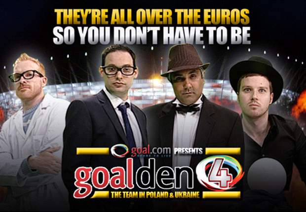 Introducing the Goal-den Four: Goal.com's Euro 2012 experts