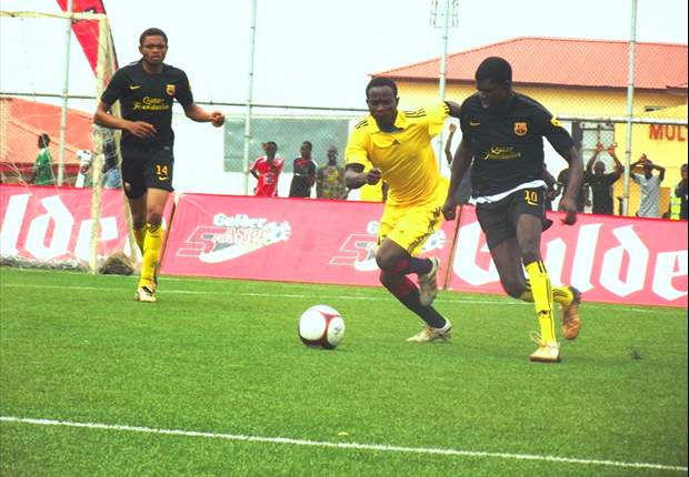 TK Academy and Sheriff FC make final of Gulder 5-A-Side tournament