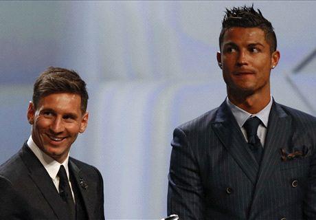Samuel compara a Cristiano y Messi