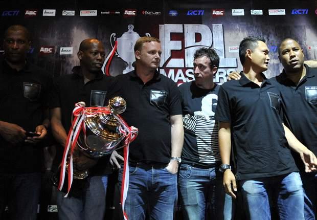 Michael Mols Bintangi EPL Masters Indonesia Cup 2012
