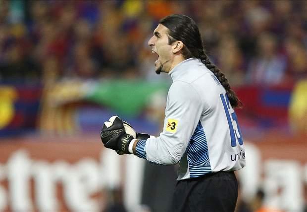 Pinto, el más veterano en jugar competiciones europeas con el Barcelona