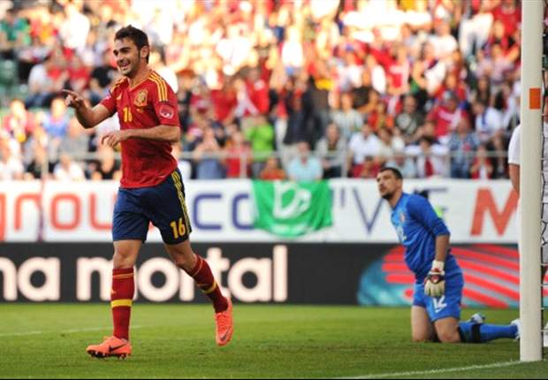 Spain striker Adrian on the hunt for the Golden Boot at Olympics