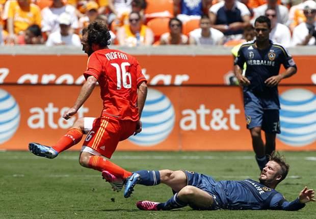 Houston Dynamo 2-1 Los Angeles Galaxy: Dynamo comeback piles more misery on Galaxy