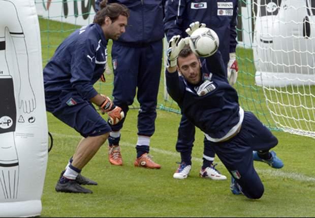 """Nel ritiro della Nazionale, Viviano si gode anche i successi della sua Fiorentina e sogna Balotelli: """"E' un fenomeno, ci farebbe proprio comodo"""""""