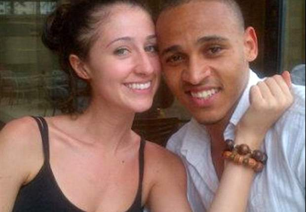 Peter Odemwingie says marrying Sarah Fallon is the best contract he's ever signed