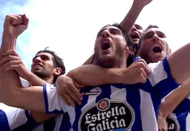 Deportivo La Coruna promoted to La Liga