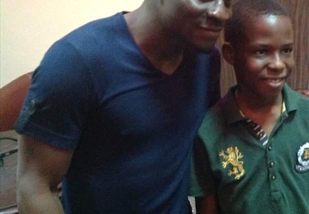 Obafemi Martins celebrates Children's Day with orphans