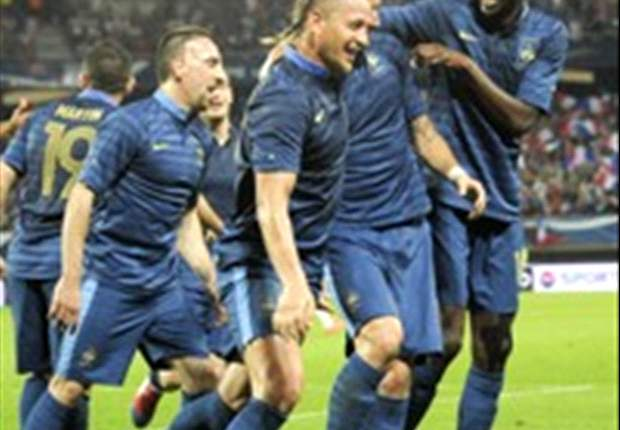 Left-back in the changing room: Evra risks being dropped by France following Iceland shocker