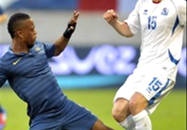 Evra unconcerned by France display against Iceland