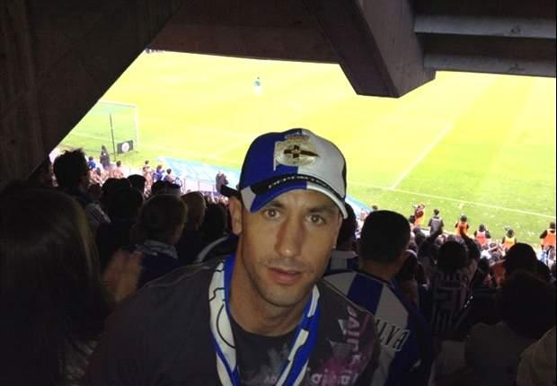 Joan Capdevila regresó a Riazor para vivir el ascenso del Deportivo de la Coruña