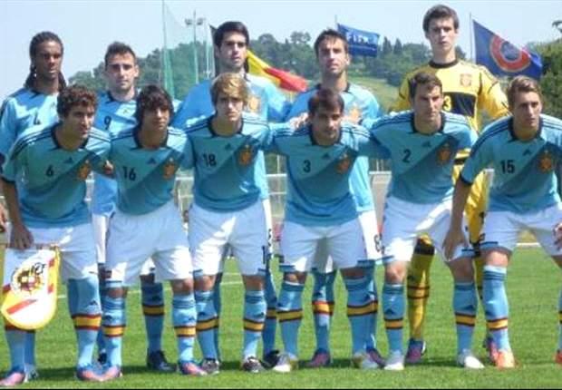 Europeo Sub19: España vence a Bélgica 1-2 y cierra invicta la Ronda Élite