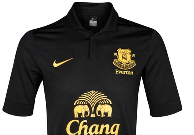 Everton reveals new away kit for 2012-13 season
