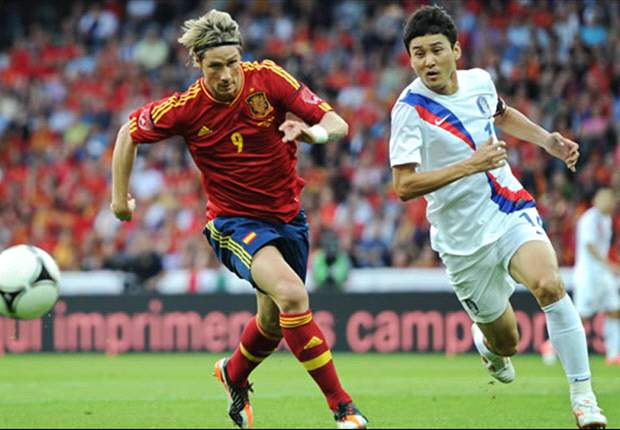 Spain 4-1 South Korea: Torres on target as world champions maintain momentum ahead of Euro 2012