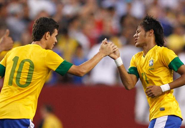 Menezes hails Brazil's progress after USA win