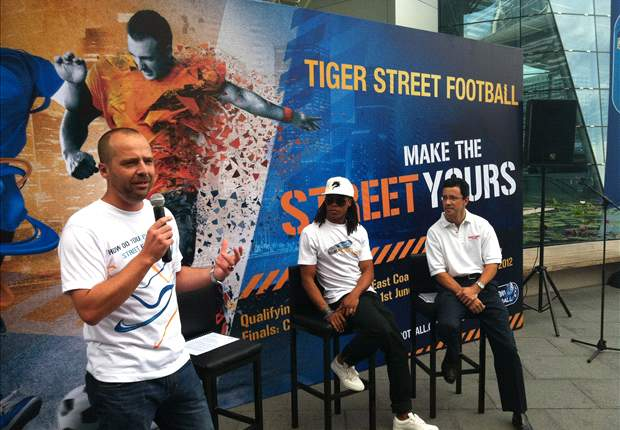 Tiger Street Football is a huge stepping stone for the sport in Asia: Tournament ambassador Edgar Davids