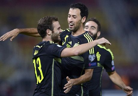 RATINGS: Macedonia 0-1 Spain