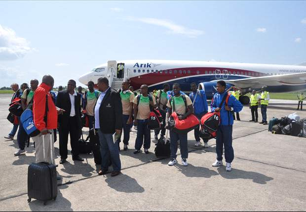 Namibia suffer two hour flight delay ahead of Nigeria game