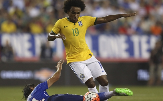 Willian USA Brazil Friendly 08092015
