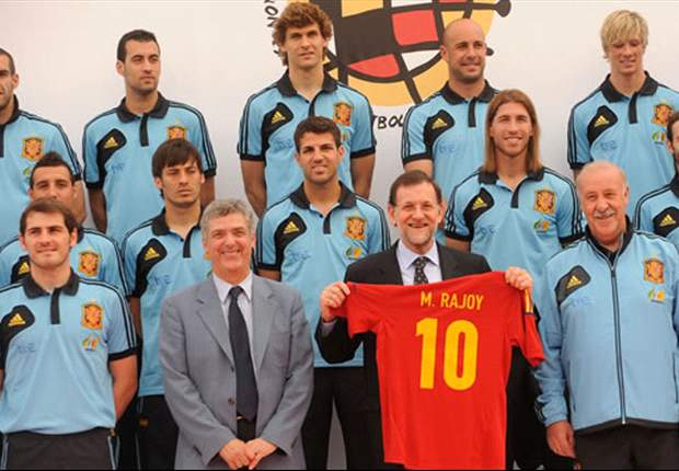 Spanish Prime Minister Mariano Rajoy: Euro 2012 win was awesome