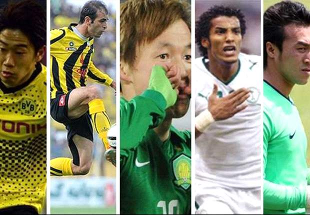 Moharram Navidkia, Shinji Kagawa, Zhang Linpeng & Naif Hazazi - Who should be the Asian player of the month for May?