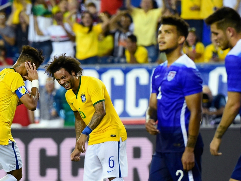 Bebeto, Neymar and Confederations Cup drama - a brief history of Brazil versus USA