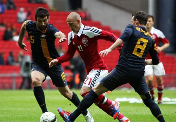 Denmark 2-0 Australia: Agger and Bjelland strike to seal morale-boosting win for Danes