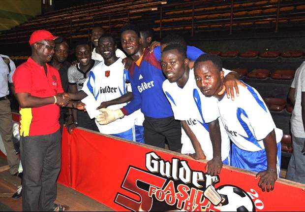 Former International says Gulder Five A-Side should remain a grassroot tournament