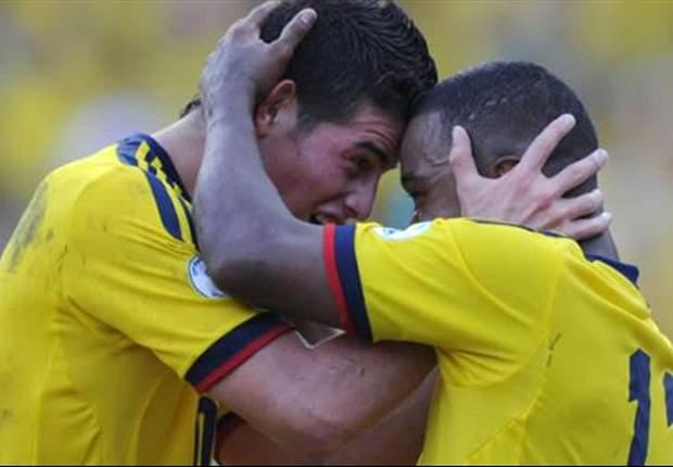 Perú 0-1 Colombia: James Rodríguez brilla en el debut oficial de José Pekerman