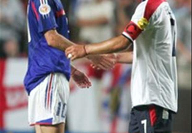 Zidane: Beckham is class