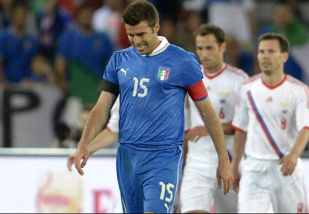 Italy defender Barzagli's Euro 2012 involvement in doubt with calf strain
