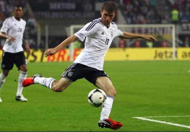 Thomas Muller downplays political overtones of Germany-Greece clash