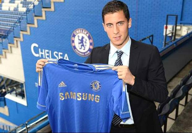 Hazard to wear No.17 shirt for Chelsea