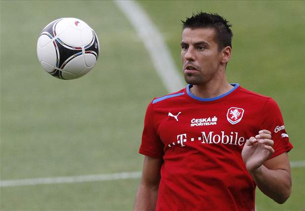 Baros latest injury worry for Czech Republic's Euro 2012 opener