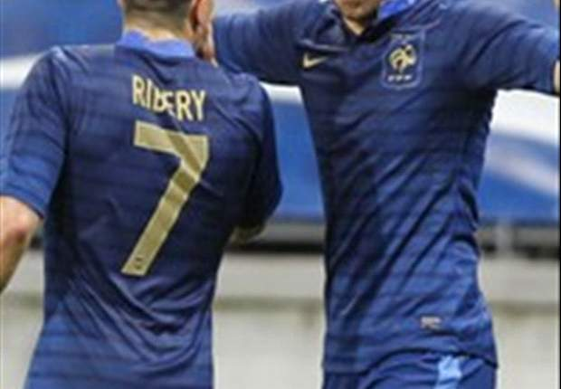 France 4-0 Estonia: Benzema & Ribery star as Blanc's men turn on the style ahead of England clash